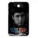 """Al Pacino Scarface - Samsung Galaxy Tab 3 7"""" P3200 Case"""