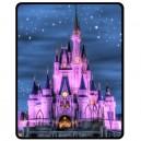 Walt Disney World Cinderella Castle - Medium Throw Fleece Blanket