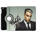Robbie Williams - Apple iPad Mini Book Style 360° Rotatable Flip Case