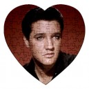 Elvis Presley - 75 Piece Heart Shaped Jigsaw Puzzle