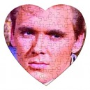 Billy Fury - 75 Piece Heart Shaped Jigsaw Puzzle