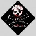 Jackass - Car Window Sign