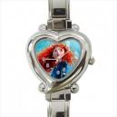 Disney Brave Merida - Heart Shaped Italian Charm Watch