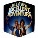 Bill And Teds Excellent Adventure - Apple iPad Mini Book Style Flip Case