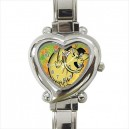 Muttley - Heart Shaped Italian Charm Watch