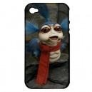 Labyrinth Worm - Apple iPhone 4 or 4S Silicone And Hardshell Dual Case