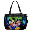 Disney Mickey And Minnie Mouse -  Oversize Office Handbag