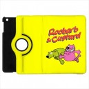 Roobarb And Custard - Apple iPad Mini Book Style 360° Rotatable Flip Case