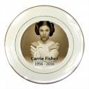Carrie Fisher Princess leia - Porcelain Plate