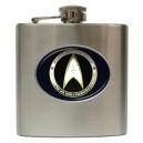 Star Trek Starfleet Command - 6oz Hip Flask
