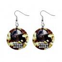 NFL Detroit Lions - Button Earrings