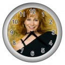 Reba Mcentire -  Wall Clock (Silver)