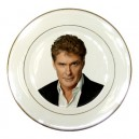 David Hasselhoff - Porcelain Plate