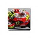 "Valentino Rossi -  3"" X 3"" Square Magnet"