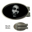 Bob Marley - Oval Money Clip