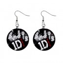 One Direction - Button Earrings