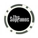 The Sopranos Logo - Poker chip Card Guard