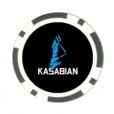 Kasabian Logo - Poker chip Card Guard