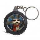Labyrinth The Worm -  Measuring Tape Keyring