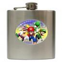 Super Mario Bros - 6oz Hip Flask