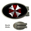 Resident Evil Umbrella Corp - Oval Money Clip