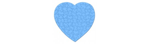 Heart Shaped Jigsaw Puzzles